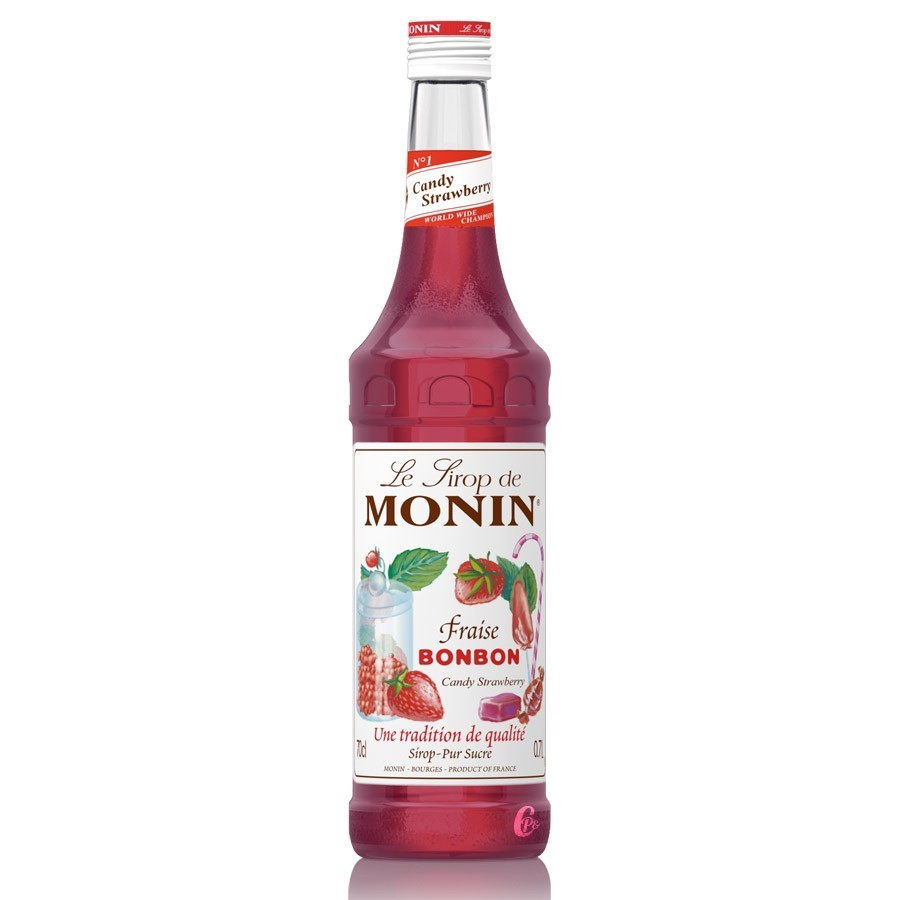 Monin Candy Strawberry Syrup 70cl