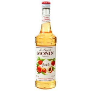 Monin Peach Syrup 70cl