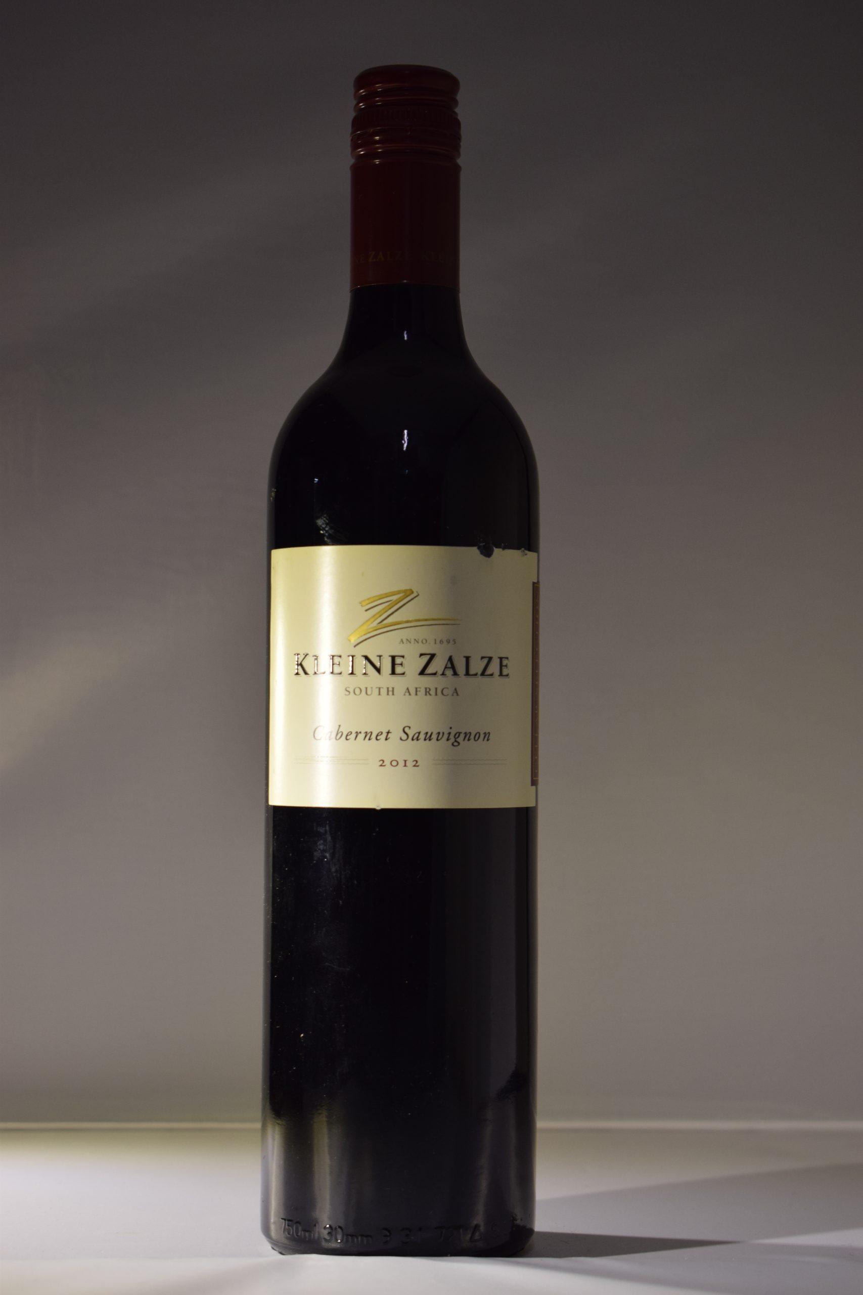 Kleine Zalze Cabernet Sauvignon 2012 Front