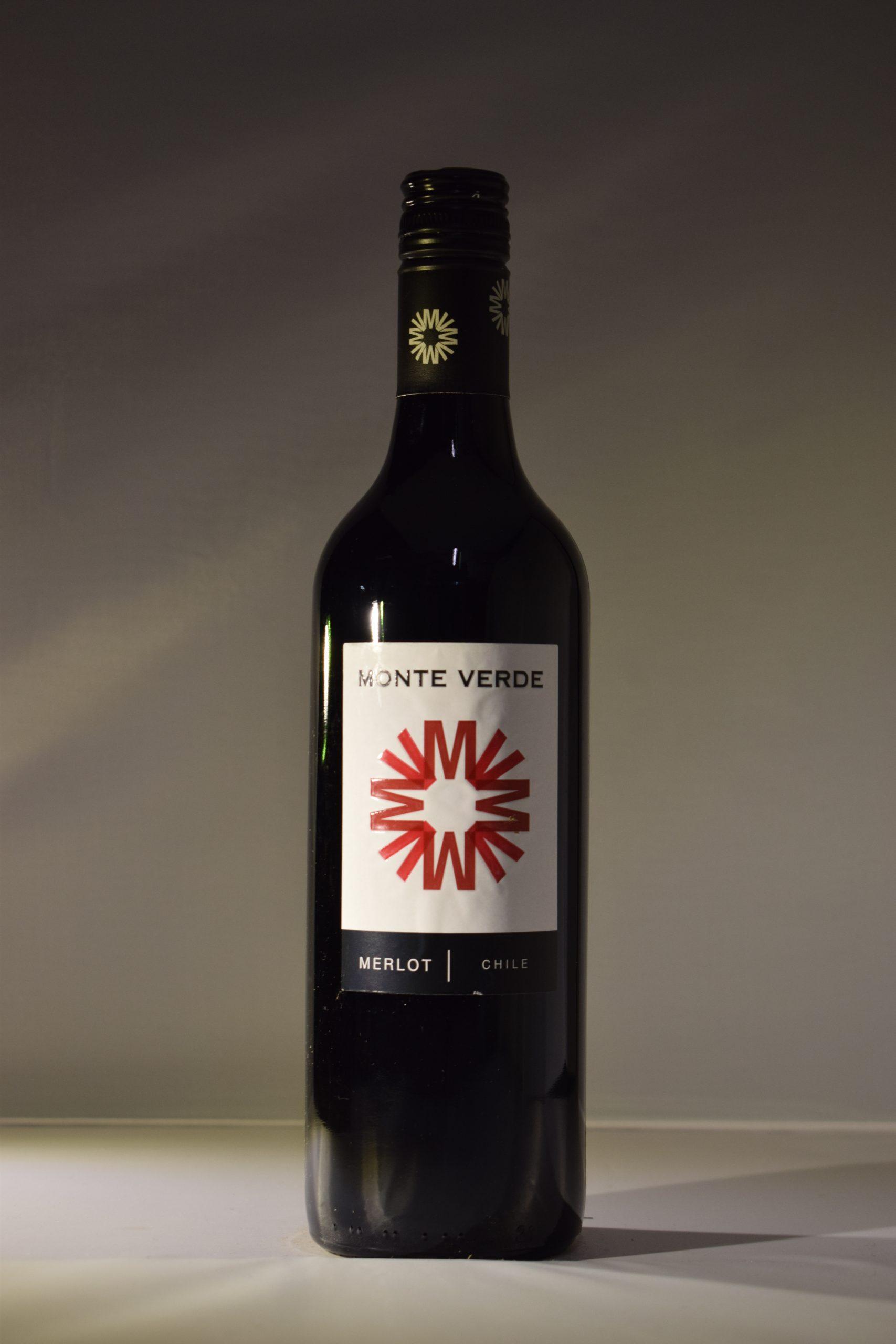 Monte Verde Merlot Front
