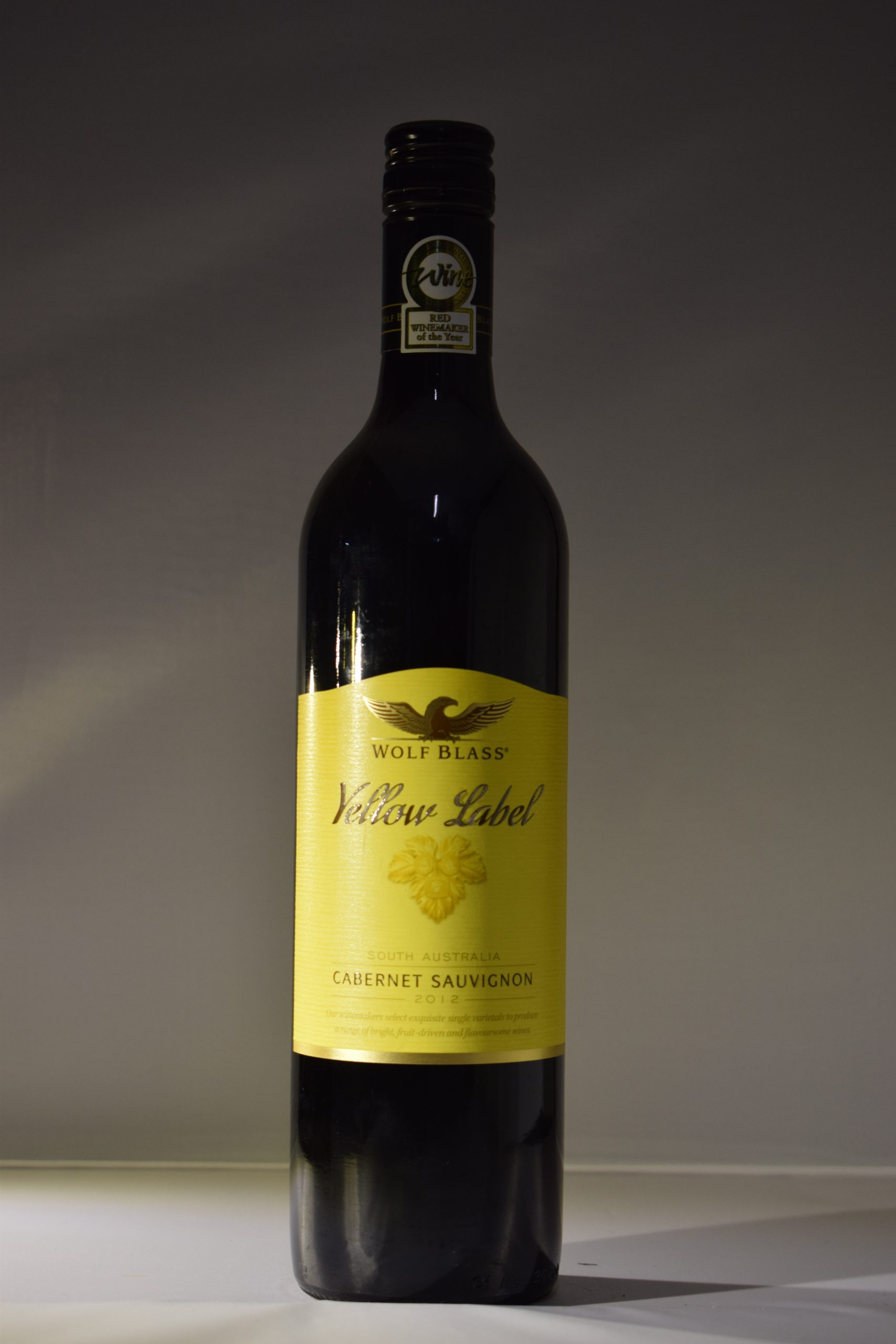 Wolf Blass Yellow Label Cabernet Sauvignon 2012 Front