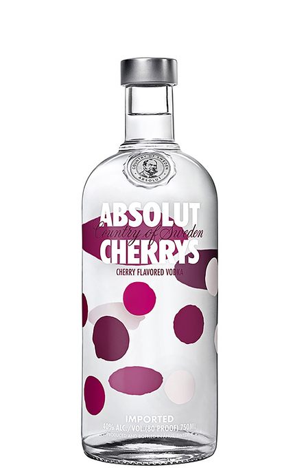 Absolut Vodka -Cherries 70cl