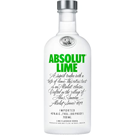 Absolut Vodka – Lime 70cl